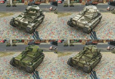 Improved British and American camo colo(u)rs 0.9.1
