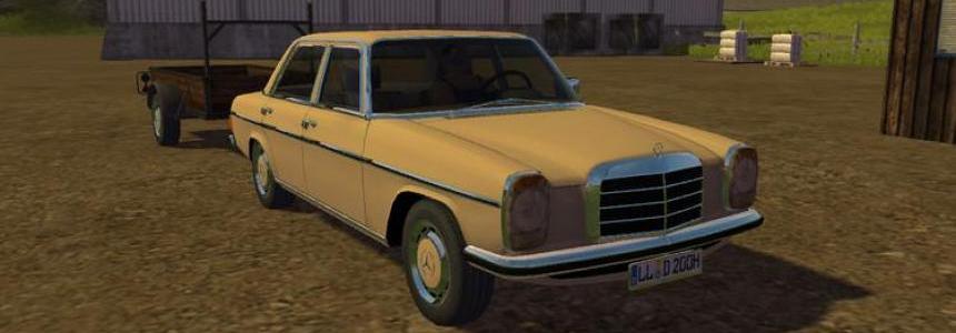 Mercedes Benz 200D v1.0