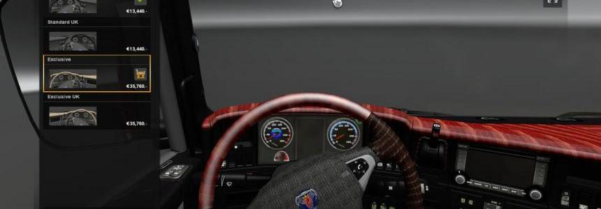 Scania Streamline Interior