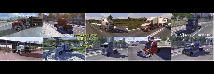 American Truck Traffic Pack by Jazzycat v1.0