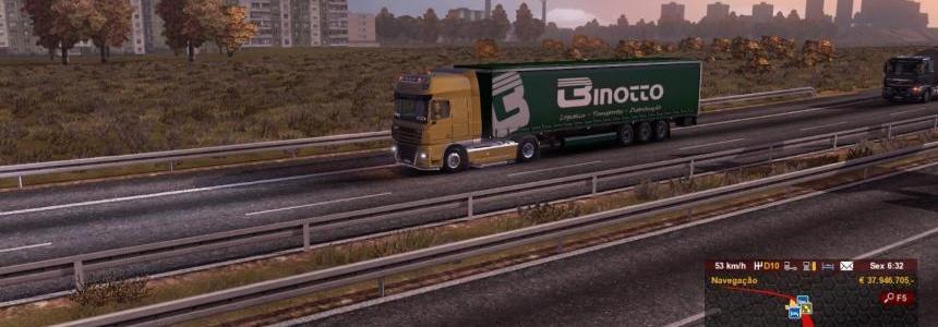 Binotto Transportes Trailer Skin