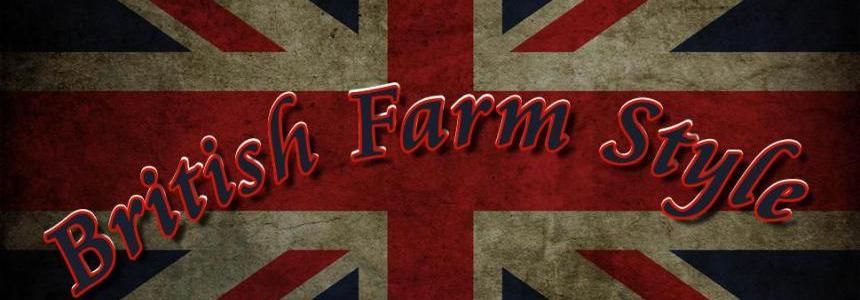 British Farm Style Map Mania