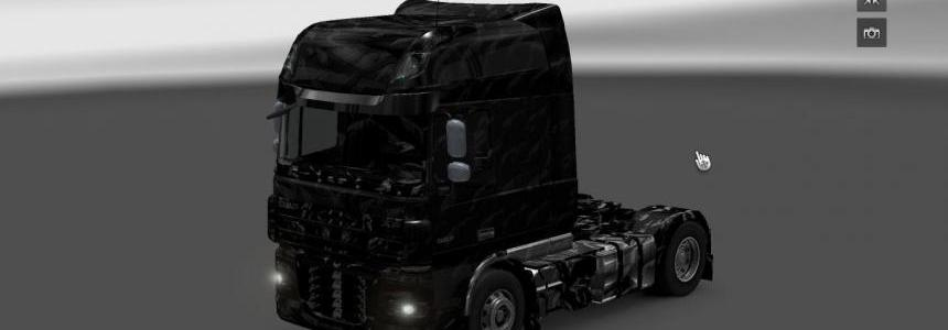 DAF Black skin and interior