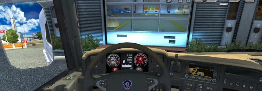 Dashboard for all Scania