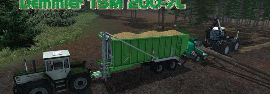 Demmler TSM 200 7L v2.0 Hackschnitzel