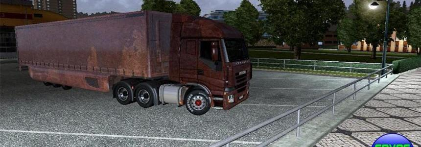 IVECO truck & Trailer rusty skin mod