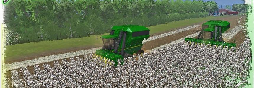 John Deere 9950 Cotton Harvester V1.2