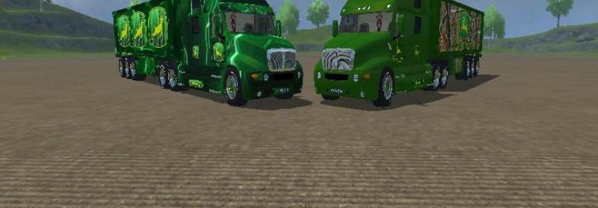 John Deere Truck Trailer Pack v1.0