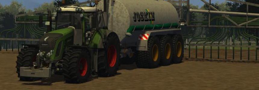 Joskin pumping 25,000 barrels TRS TRIDEM v3.0