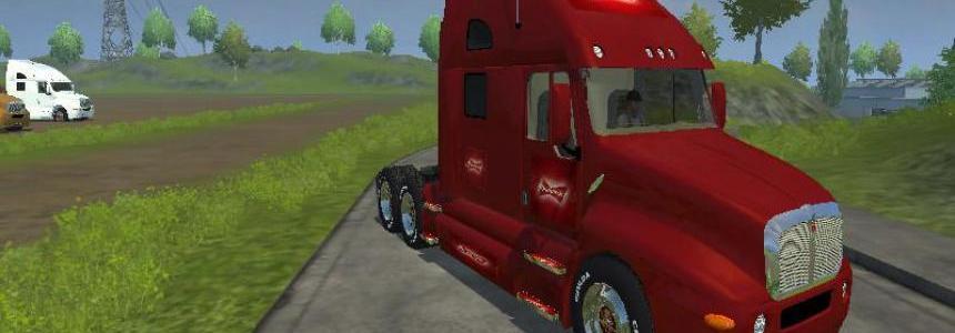 Kenworth Truck Budweiser V1.0