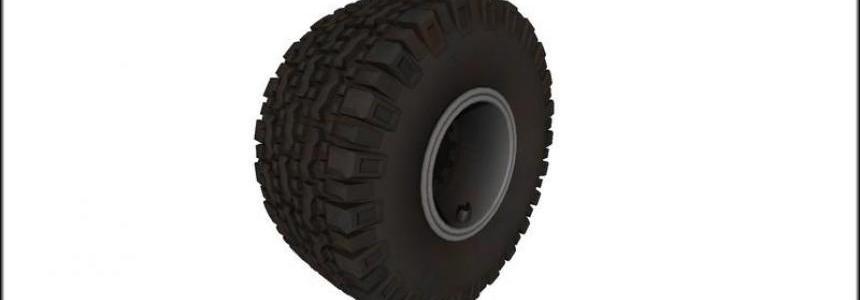Knobby tires v1.0