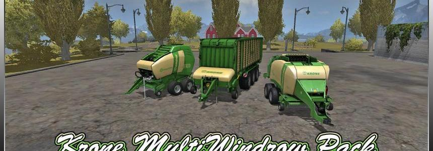 Krone Multi-WIndrow Pack V1.0