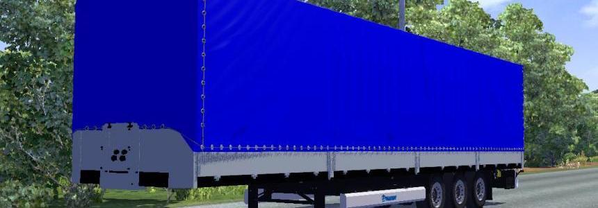 Krone SDP 27 trailer