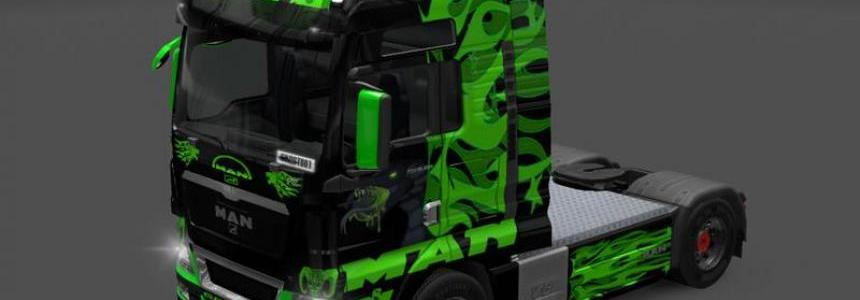 MAN TGX Green Dragon Skin v1.0