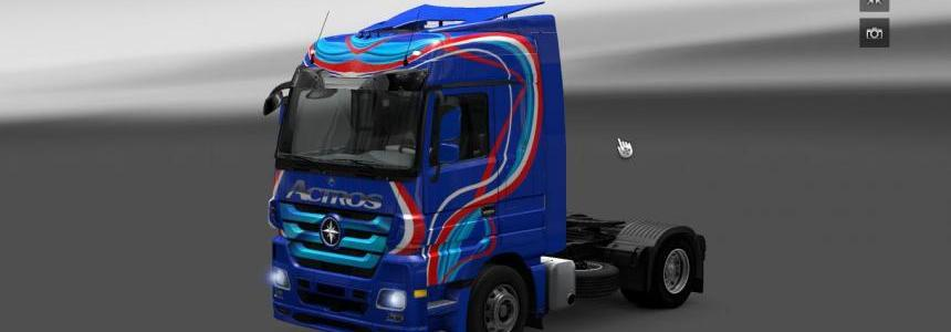 Mercedes Actros Blue edition