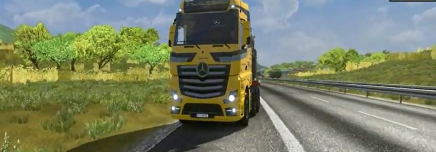 Mercedes Actros Open Pipe (Sounds Not Real) V2.0