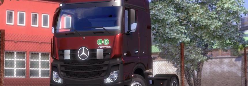 Mercedes Benz Actros MPIV v1.10.x