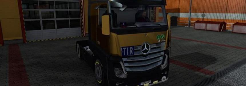 Mercedes Benz Actros MPIV v1.10