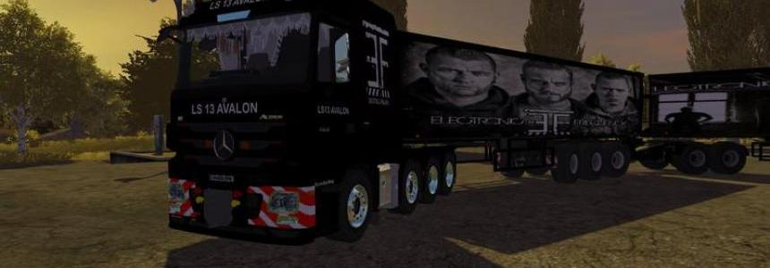 Mercedes Benz Mp3 heavy duty EF v2.0