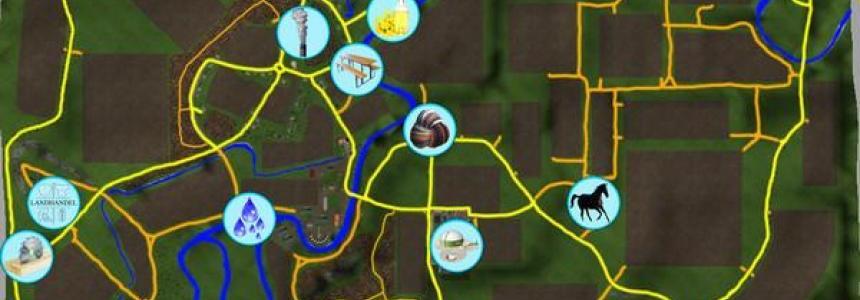 Monchwinkel v4.0 Forst und Wirtschaftskreislauf