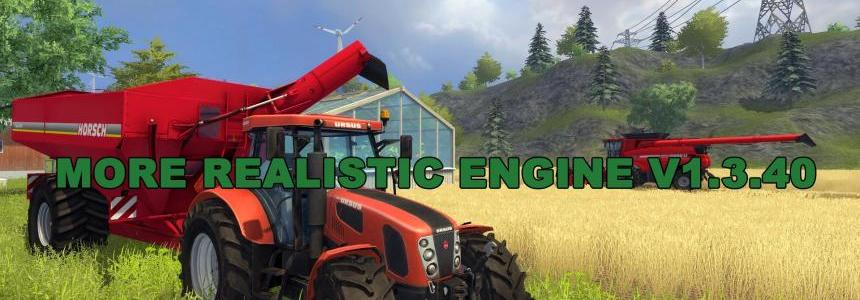 More Realistic Engine V1.3.40
