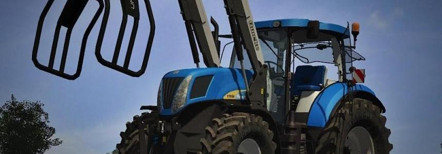 New Holland T7050 + FL