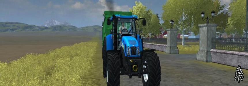 New Holland T7550 MR V2