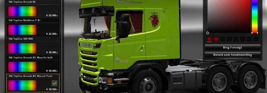 Norway BRING skin Scania r2008