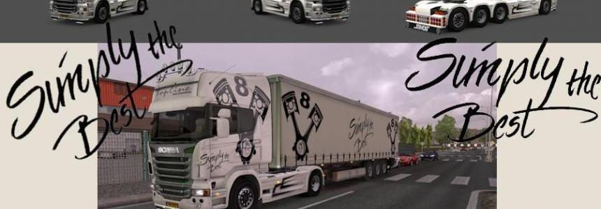 "Pack Scania ""Simply the Best"""