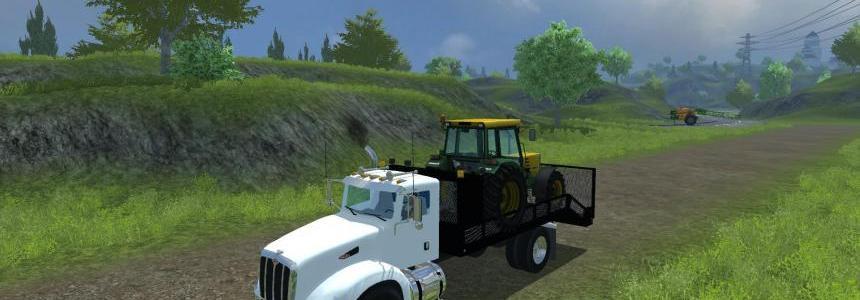 Peterbilt 384 Landscape Truck