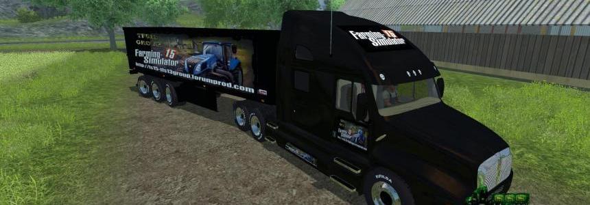 Publicitaire Truck Farming Simulator 15 V1.0
