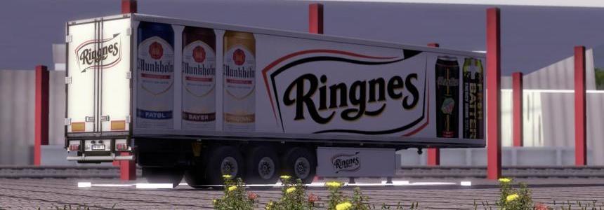 Ringnes Krone CoolLiner Trailer Skin