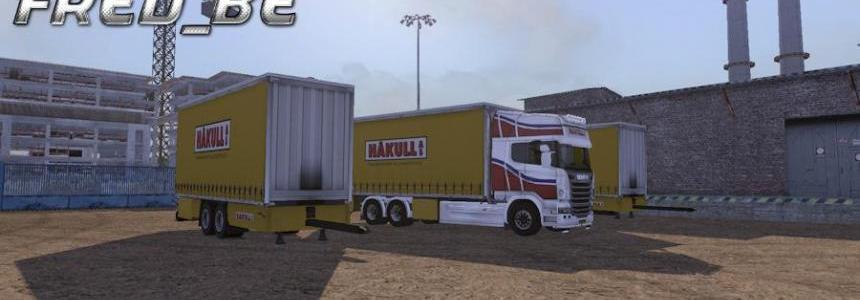 Scania R Tandem Hakull