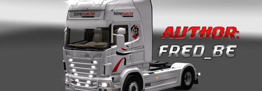 Scania R V4 Intermarche
