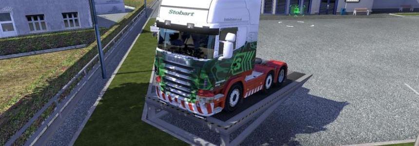 Scania R2008 50K Stobart