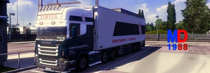 "Scania R2008 + Trailer ""Kempen"""