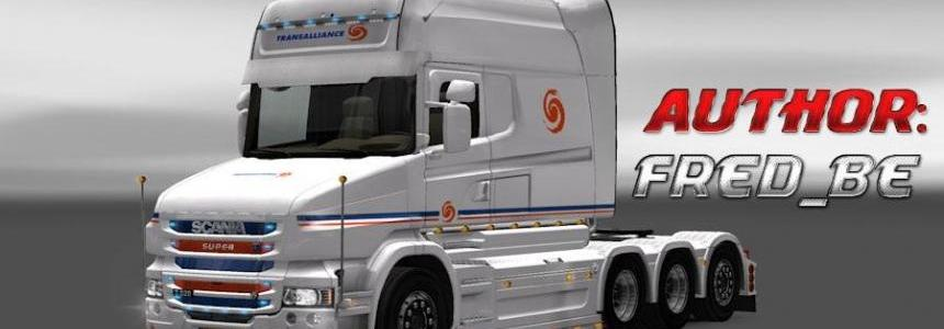 Scania T Longline Transalliance