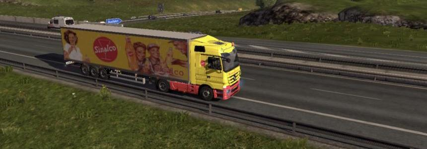 Sinalco Mercedes & Trailer 1.8.2.5 & 1.9.22