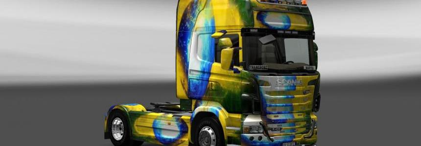 Skin Scania Brasil 2014 V4