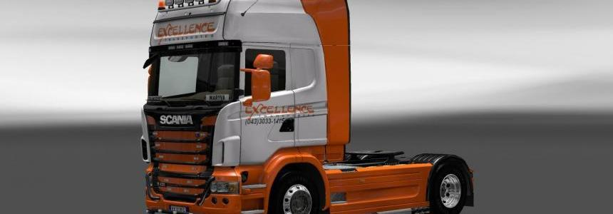 Skin Scania Excellence Transportes