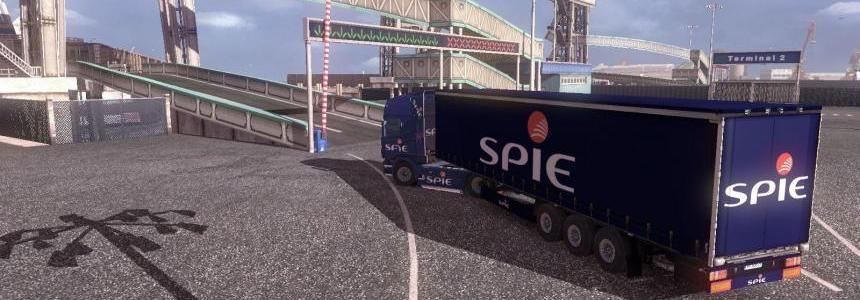Skin Scania R + skin trailer SPIE DGK IDF