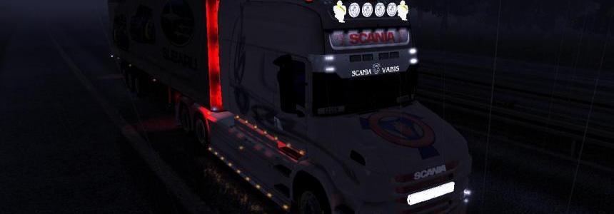 Skin Scania-T longline