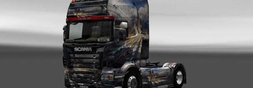 Skin Scania WP5NQXMQ