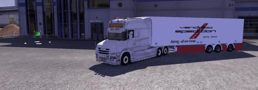 Trailer Skin: Vendelbo Spedition  1.9.22