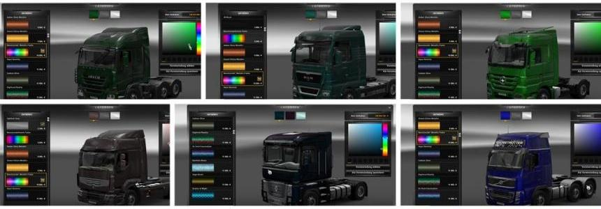 Truck Metallic Color v1.0