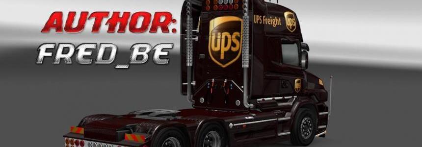 Update Scania T v1.3 UPS