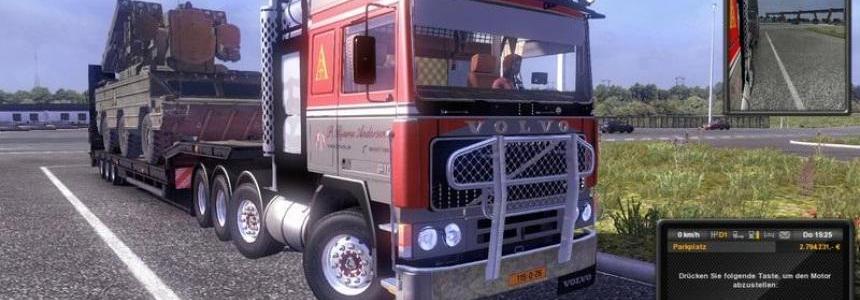 Volvo F10 8x4 PBA Heavy Transporter