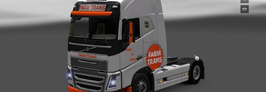 Volvo fh2012 + Trailer Farm Trans
