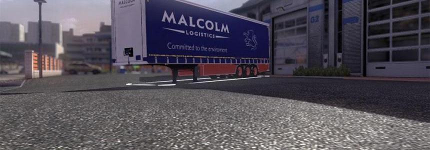 WH Malcolm trailer