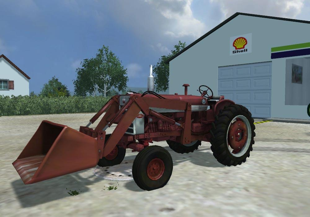 Farmall Tractor With Loader : Farmall with loader modhub